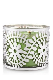 Paisley Flower 3-Wick Candle Sleeve - Slatkin & Co. - Bath & Body Works