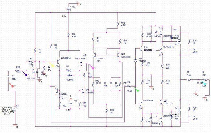 Class d rời rạc in 2020 class d amplifier diagram
