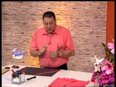 Hermenegildo Zampar - Bienvenidas TV - Explica como coser la cintura del pantalón.