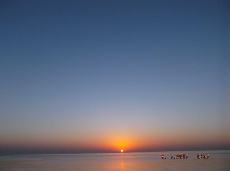 východ slunce v marsa alam