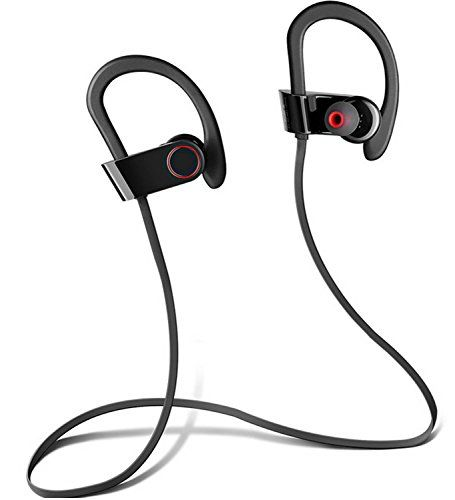Special Offers - Wireless Sport Bluetooth Headphones with Microphone  Hd Stereo Beats Sound Quality  Sweat Proof Stable in Ear Headsets  Ergonomic Earphones  Workout Earbuds  Smartphones & Tablets (Black) - In stock & Free Shipping. You can save more money! Check It (May 06 2016 at 04:38PM)…