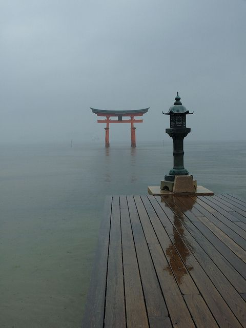 Itsukushima shrine, Japan #OrientArt #China #Japan #OrientalArt #OrientCustom
