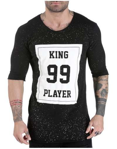 ΝΕΕΣ ΑΦΙΞΕΙΣ :: T-shirt King 99 Player Black- OEM