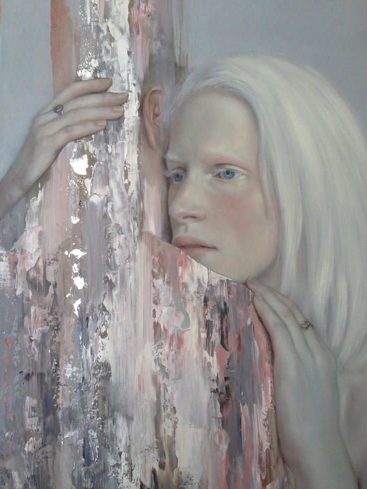 Meridith Marsone's portraits evoke dream worlds; the subjects may be surrounded by butterflies or swallows, or with birds perched on their shoul...