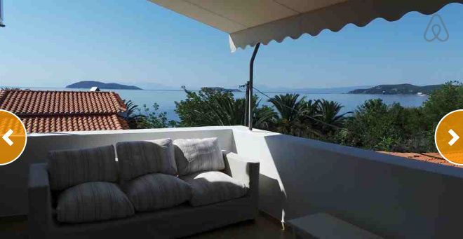 Check out this awesome listing on Airbnb: Villa Megali Ammos Beach  in Skiathos