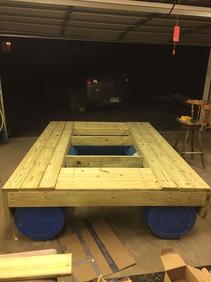 7 best Floating picnic table project images on Pinterest   Floating picnic table, Picnic tables ...