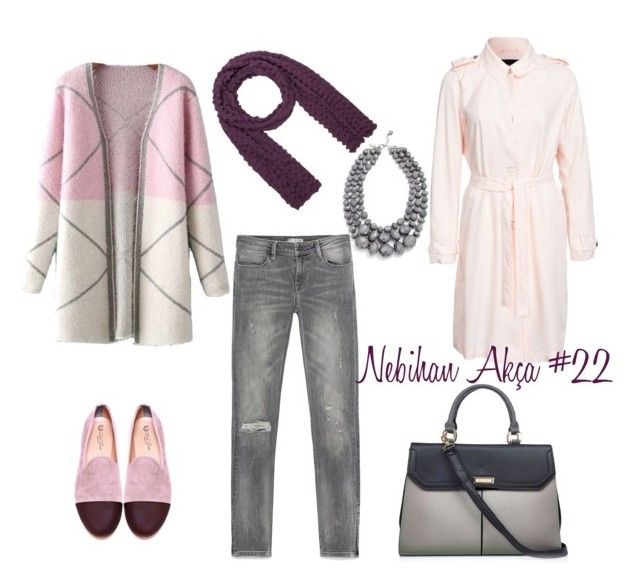 hijab fashion outfit #22 by nebihan-akca on Polyvore featuring polyvore fashion style Chicnova Fashion VILA Zara Del Toro Isolde Roth