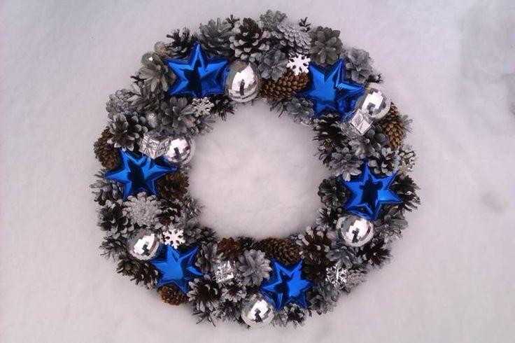 Weihnachtskranz. Eco-Stil. Mein Job, meine Idee; Новогодний венок. Эко-стиль. Моя работа,моя идея; Christmas wreath. Eco-style. My job, my idea