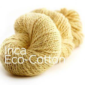 Inca Eco Organic Cotton from Joseph Galler at Fabulous Yarn