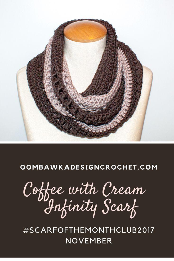 691 besten Crochet Scarves Bilder auf Pinterest   Kostenlos häkeln ...