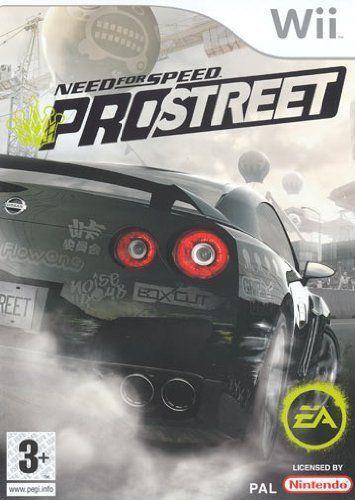 NEED FOR SPEED PRO STREET  WII  usato