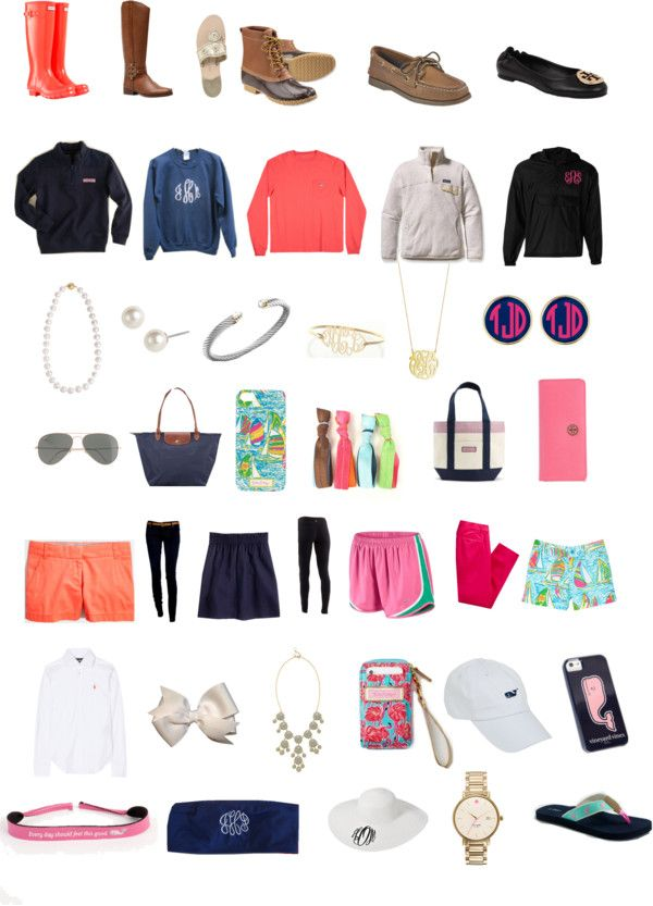 """""""Preppy"""" by hope-winchell ❤ liked on Polyvore"""