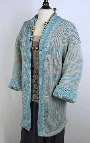 Ravelry: Double Strand Kimono Jacket pattern by Kathy Perry