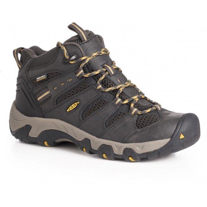 Bekväm sko som passar lika bra till dagsturer i fjällen som till långpromenader i stan. Den är vattentät och ventilerande samt utrustad med en bred läst och en stötdämpande sula, vilket ger skön komfort.