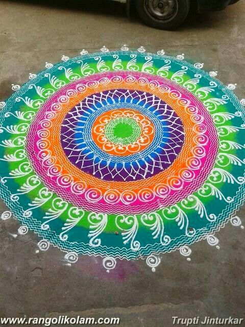 Today Thoughts Of Kolam When someone truly cares