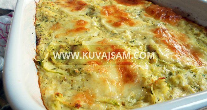 Zapečene tikvice i krompir (foto: kuvajsam.com)