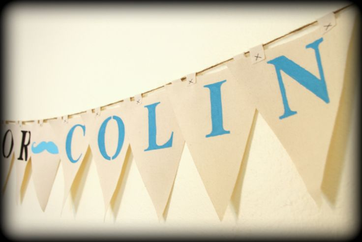 Baby Names Banner  Baby Gender Reveal Party by ImSeriouslyJoking, $35.00