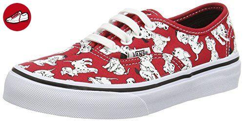 Vans  Authentic Disney, Jungen Sneaker, rot - Rojo / Blanco - Größe: 27 (*Partner-Link)