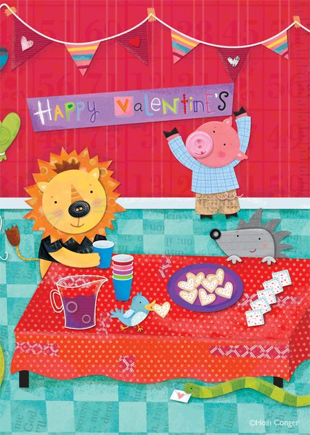 Greeting Card from Design, Design, Inc. illustrated by Holli Conger