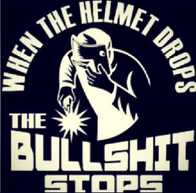 Pretty much what my welding teacher taught. Gah, I want this on a t-shirt!