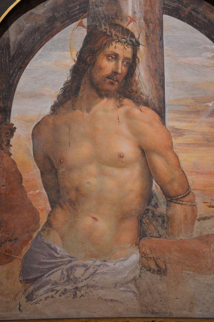 Siena Sodoma (1477-1549) Cristo alla colonna (my photo)