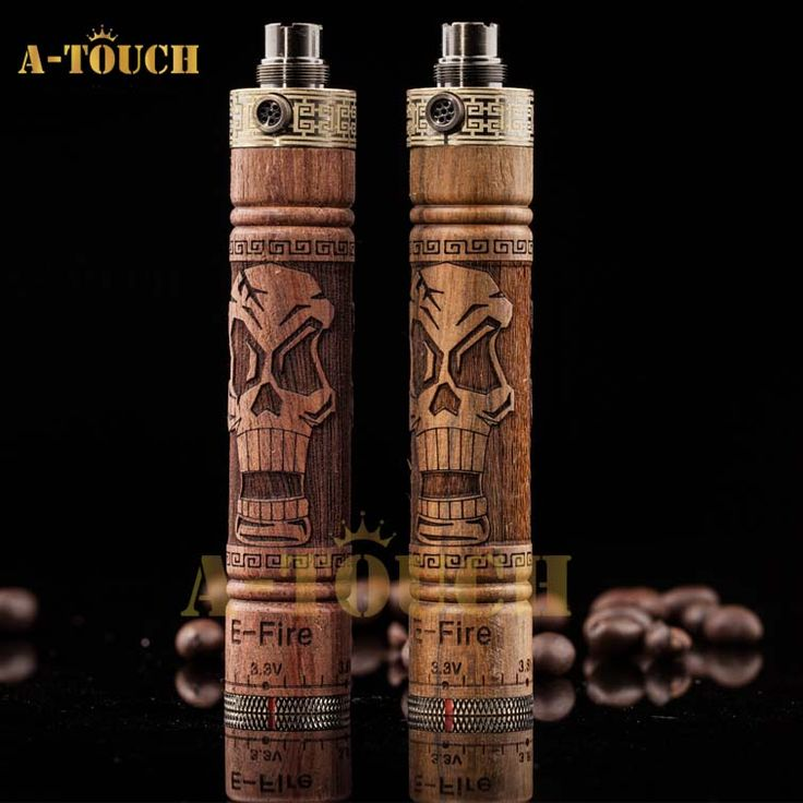 2013 Newest e cig mod wood battery kit E-Fire 1100mah vision e-fire. The detail is amazing! <3