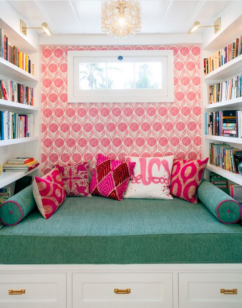 299 best nook love images on Pinterest | Ad home, Alcove decor and ...