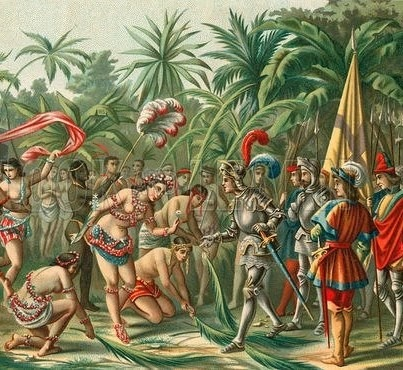 """Anacaona is considered the primordial founder of Haiti. As Haiti's first heroine, Anacaona was the supreme Caciques (chief/leader) who ruled (over the island which is now known as) Haiti and Dominican Republic by the time Columbus and his """"wrecking"""" crew arrived. Anacaona and her husband Caonabo had intense battles with the Spaniards that ultimately led the Spaniards, under Nicola De Ovando, to capture her under the pretense of peace. They later executed her by hanging, at the age of 29."""