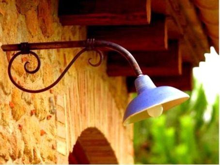Lámpara de cerámica, para interior o exterior, por Ceràmica Ley