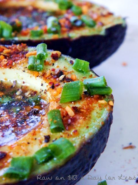 Raw on Ten Dollars a Day (or Less!): Lime Chipotle Avocados ~ Raw Food Recipe