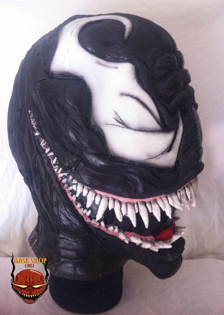 Venom latex mask www.facebook.com/maskshopchile