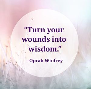 Motivation Monday: Turn your wounds into wisdom. Why I'm thankful for having T1 diabetes. Post on Should You Eat That?