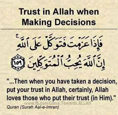 Islam. Decision Making made easy.
