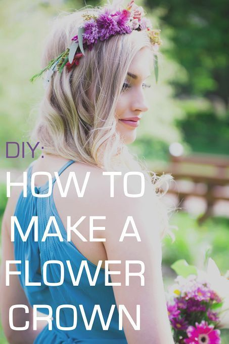 A Tutorial on How to Make Flower Crowns and Combs   Kennedy Blue