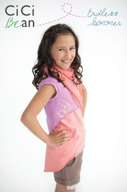 The Favourite Tunes Tee is twice the fun, wear the crop and tank as separates or together! | Cici Bean - SS13 Collection | #tweens #tweengirl #tweenfashion
