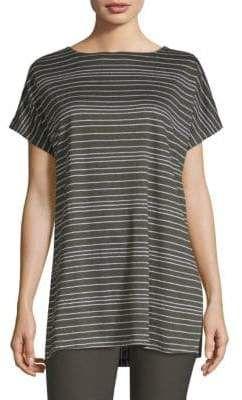 5d180204fc2 Eileen Fisher Boatneck Linen Tunic | Tops & Tunics | Linen tunic ...