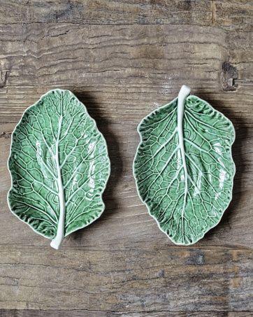 Bordallo Pinheiro Cabbage Leaf 25 | Artilleriet | Inredning Göteborg