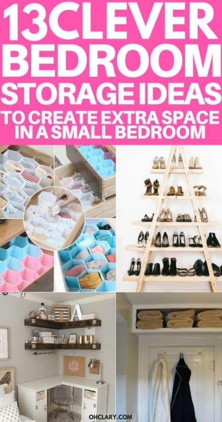 51 Ideas For Bedroom Organization Diy Couple Home Decor