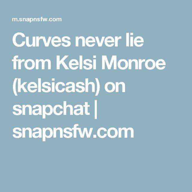 Curves never lie from Kelsi Monroe (kelsicash) on snapchat | snapnsfw.com