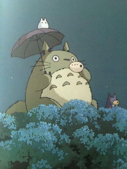 Studio Ghibli <3 Totoro