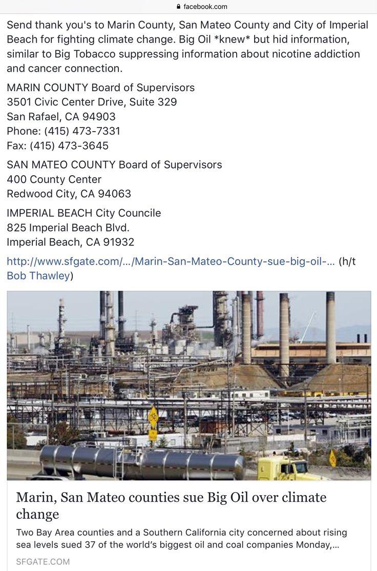 California san mateo county pescadero - Marin San Mateo Counties Sue Big Oil Over Climate Change