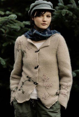 MALT & TARTAN SCARF-Knitting Magazine No. 42 for Autumn/Winter 2007 from Rowan Yarns