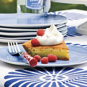 Classic Chess Pie | You can't get more basic than chess pie. Remarkable for its simplicity and timeless appeal, chess pie is the ultimate Southern pantry pie.