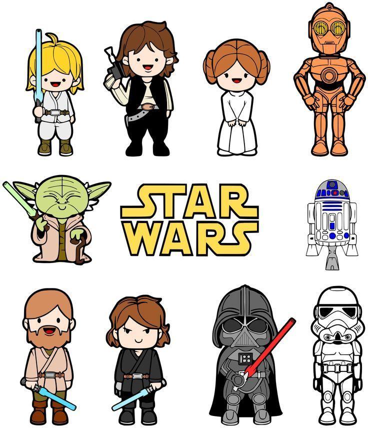 20 packs d'éléments graphiques à télécharger gratuitement autour de Star Wars | BlogDuWebdesign