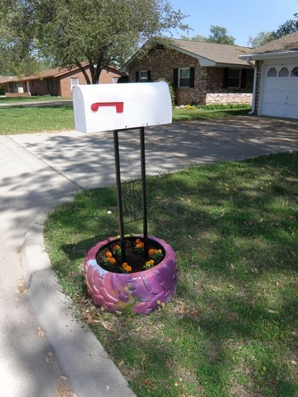 might keep the snow plower from breaking our mailbox every year