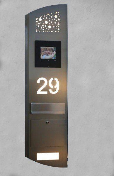 Beautiful Seite Hausnummern Beleuchtete LED Hausnummern Ob Notarzt Rettungsdienst oder Taxifahrer oder eine mit LED beleuchtete Hausnummer die auch