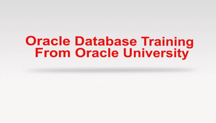 Take a look at all our Database Training feature video #Database #oracle #oracleedu #database12c #training #education #video