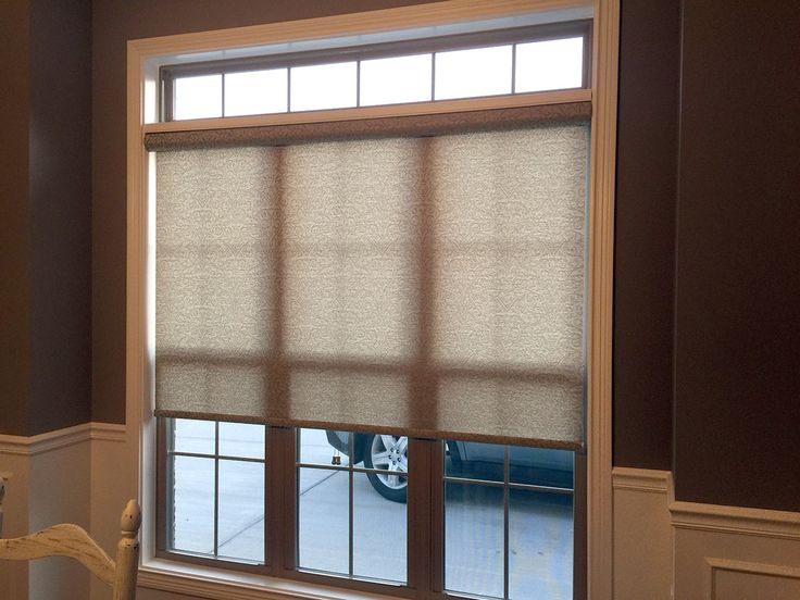 Lovely This client chose to leave their transom window open We installed a Palladian Window Shelf