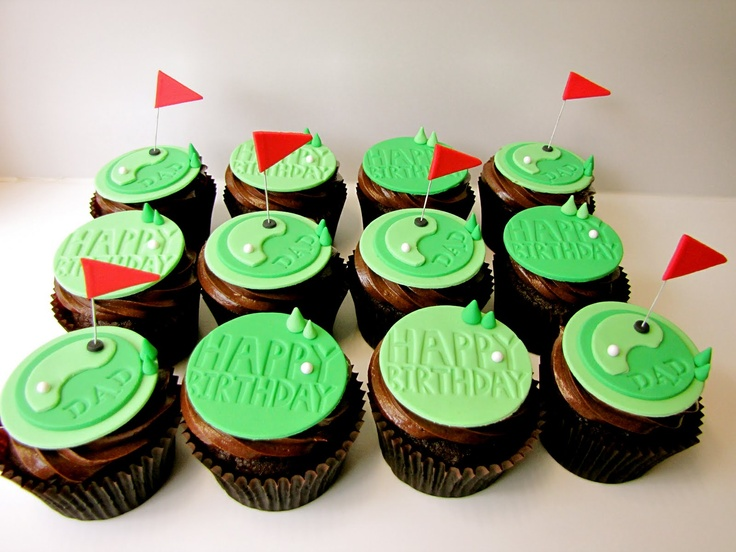 Golf Cupcake Images : 1000+ ideas about Golf Cupcakes on Pinterest Golf cakes ...