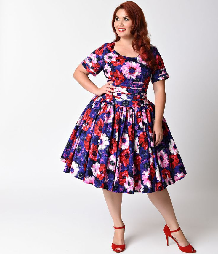 380 best 1950s plus size clothing images on pinterest | plus size